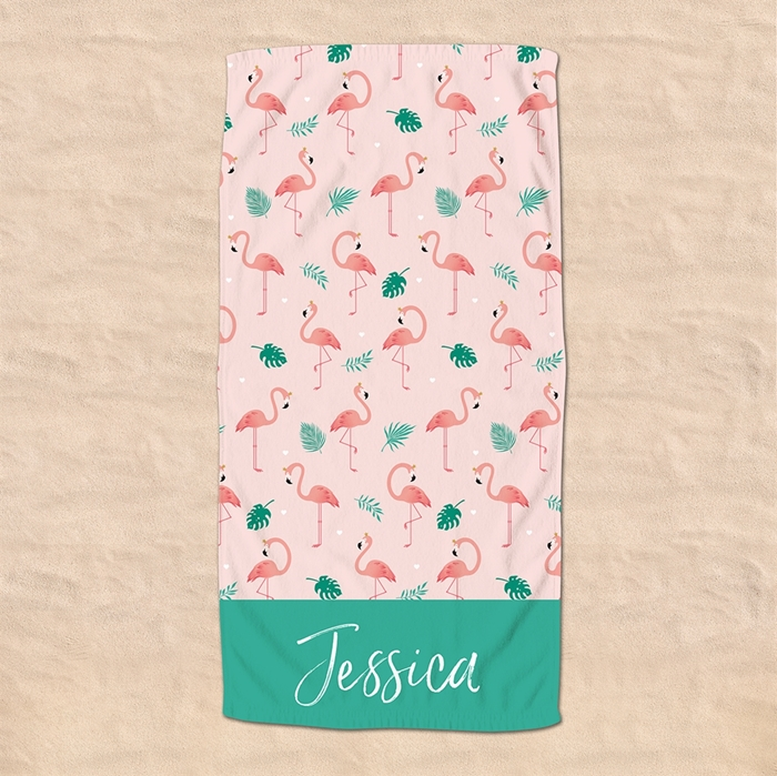 Picture of Flamingo Beach Towel