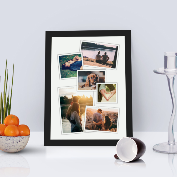 Picture of A4 Photo collage personalised poster