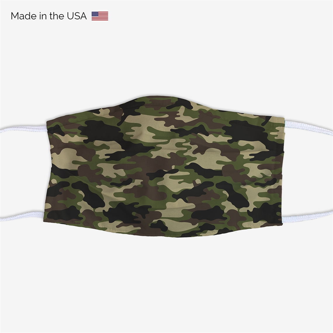 Picture of Camo Green Face Mask