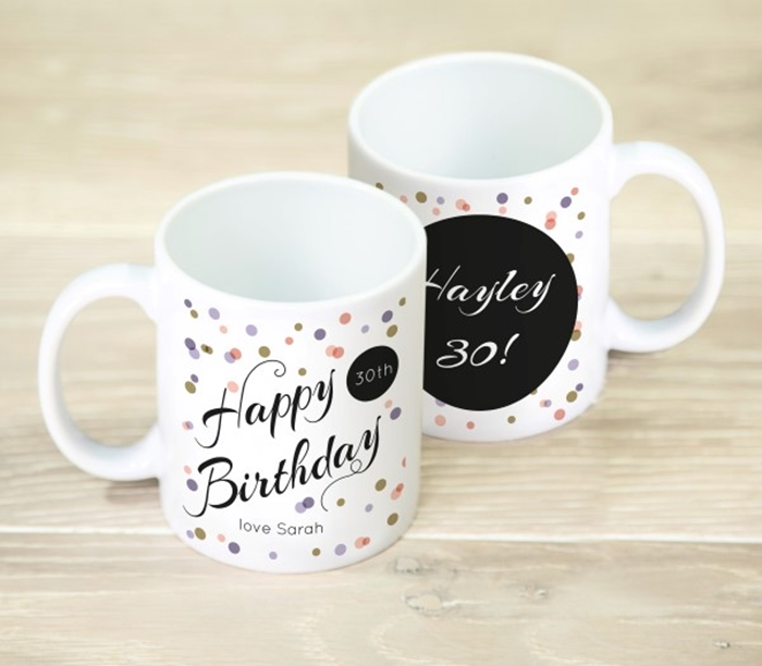 Picture of Happy Birthday Spot personalised mug