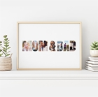 Picture of Mom & Dad Personalized Poster
