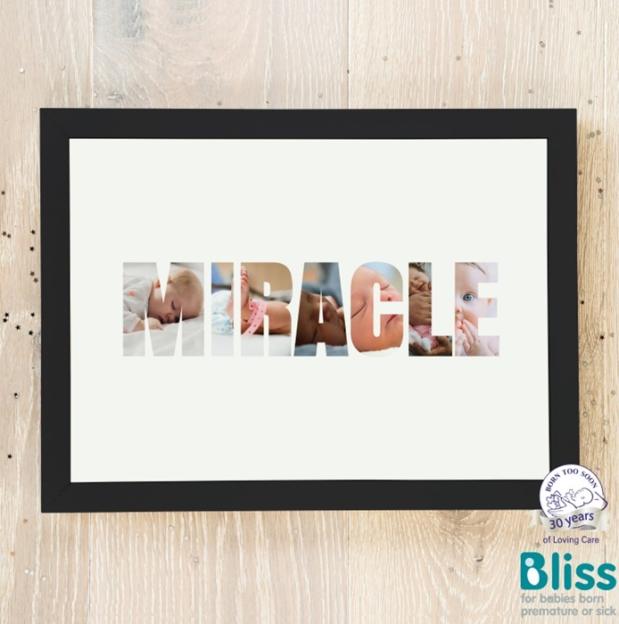 Picture of Miracle Photo personalised poster