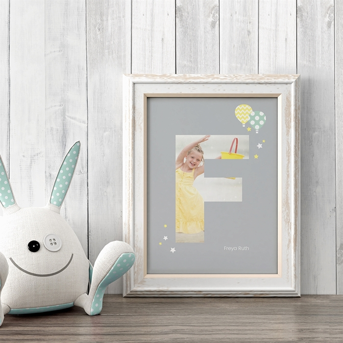 Picture of Baby & Kids Letter F Poster