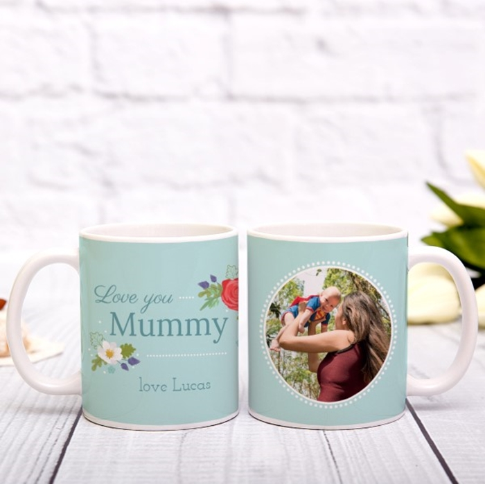 Picture of Love you name personalised mug