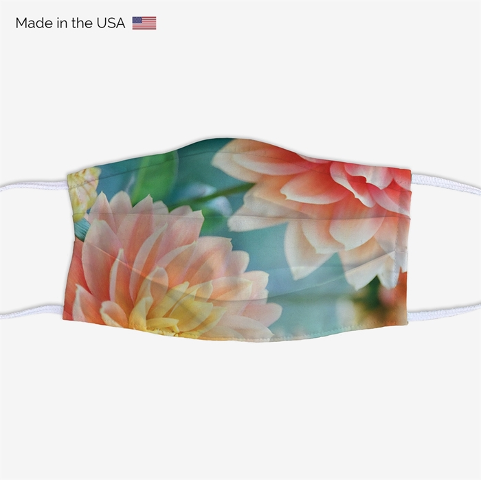 Picture of Spring Flowers Face Mask