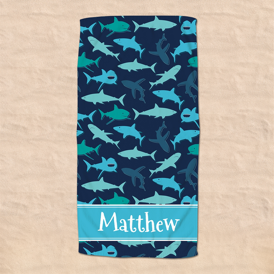 Picture of Shark Beach Towel