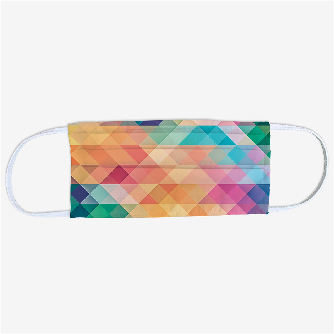 Picture of Abstract Rainbow Face Mask
