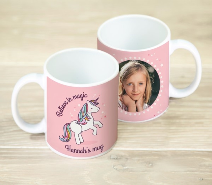 Picture of Unicorn magic personalised mug