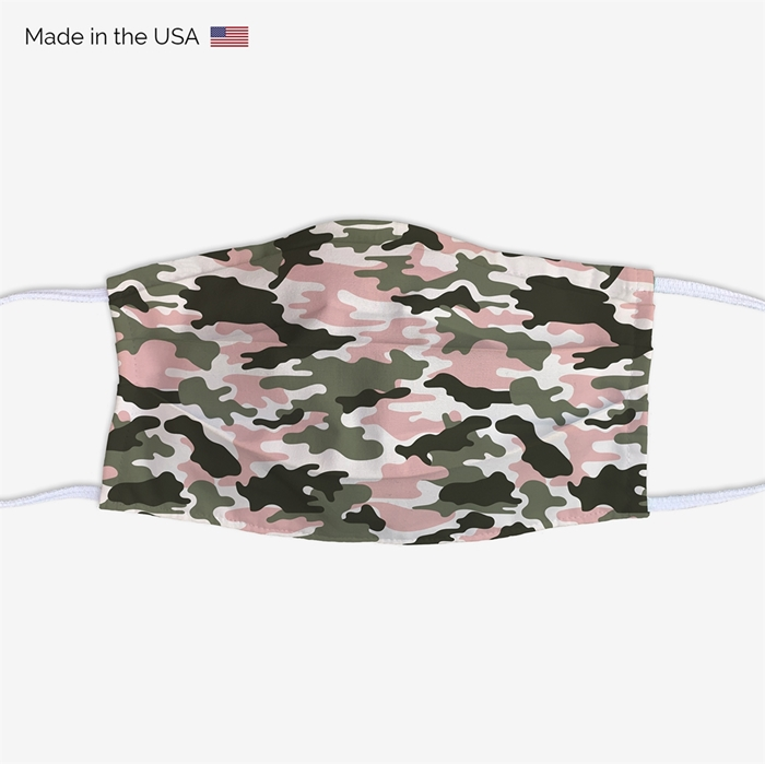 Picture of Pink Camo Face Mask