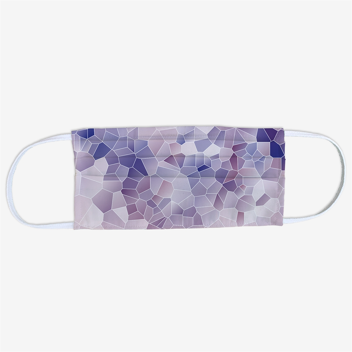 Picture of Purple Geometric Face Mask