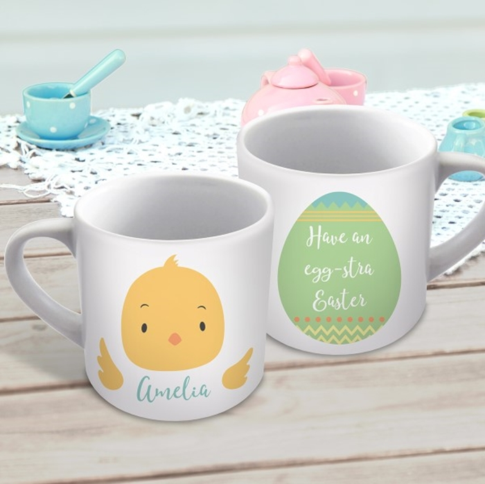 Picture of Easter Chick child's personalised mug