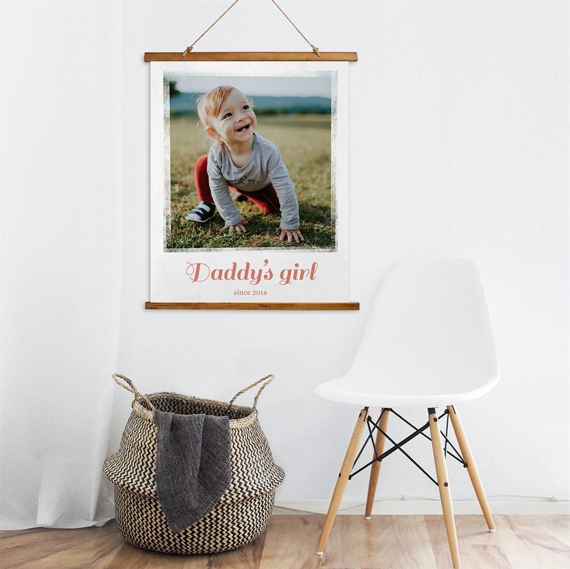 Picture of Daddy's Girl Wooden Wall Tapestry