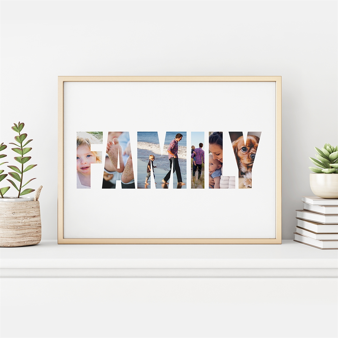 Picture of Family Personalized Photo Poster