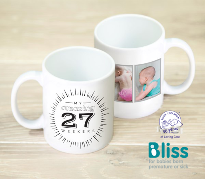 Picture of Amazing premature triplets personalised mug