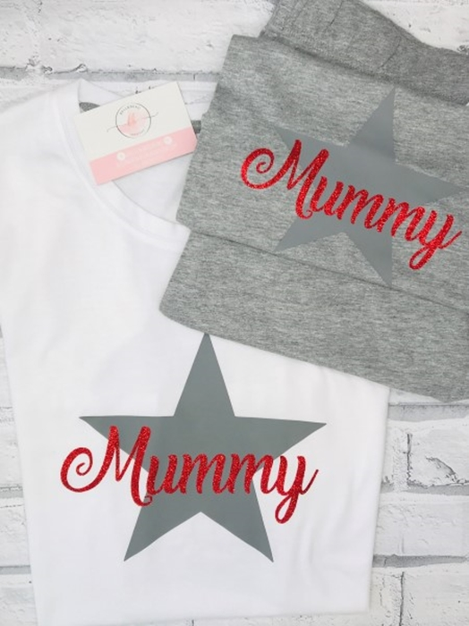 Picture of PRE-MADE Mummy personalised pjs