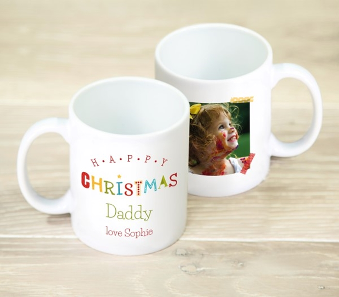 Picture of Happy Christmas personalised mug