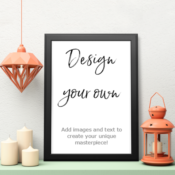 Picture of A3 Design your own personalised poster