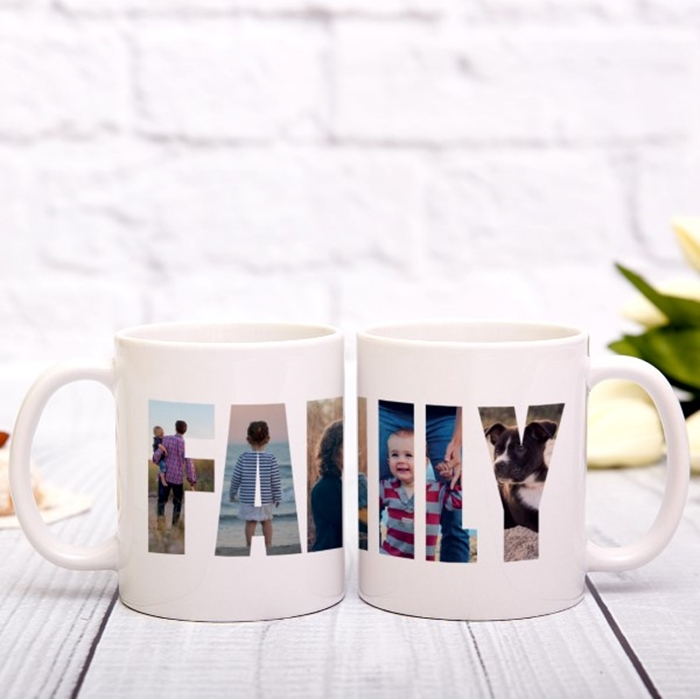 Picture of Family Photos Personalized Mug