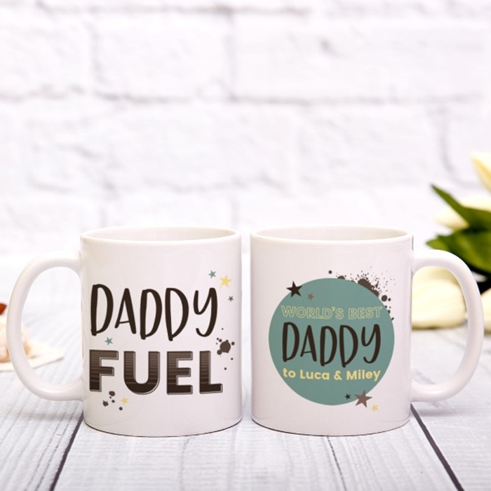 Picture of Any name fuel blue personalised mug