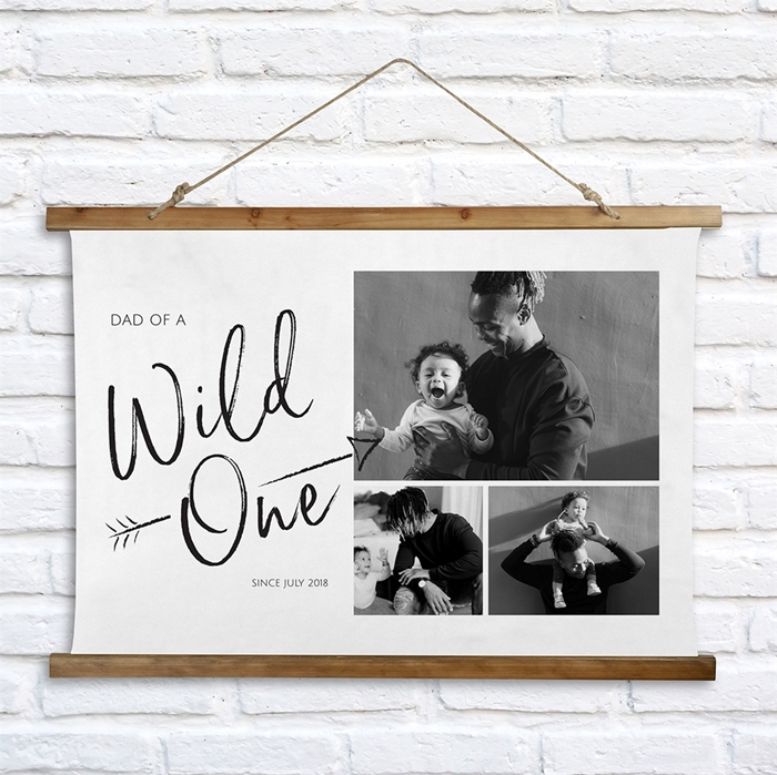 Picture of Wild One Wooden Wall Tapestry