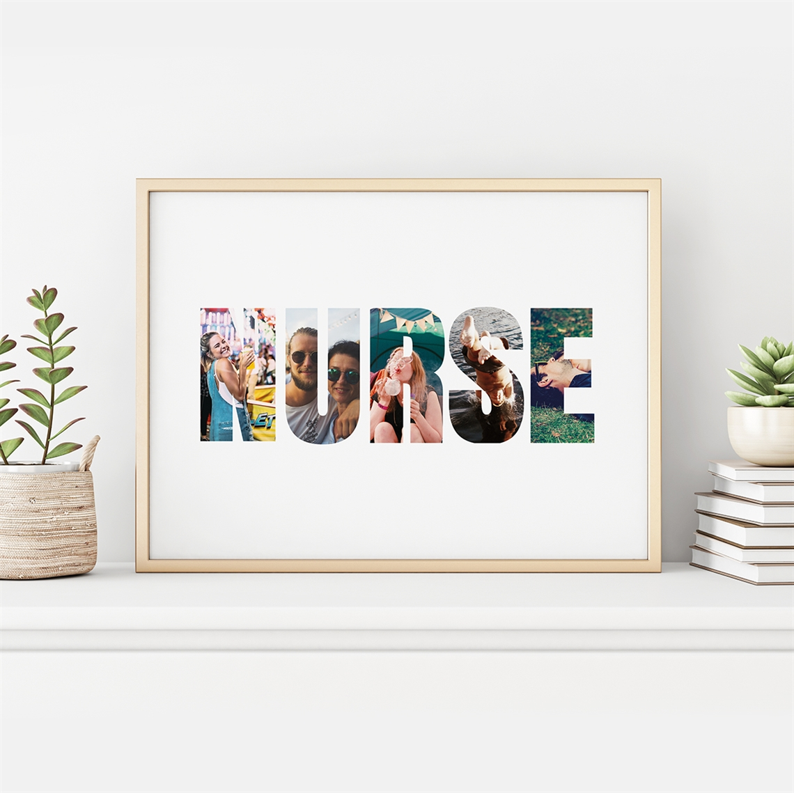 Picture of Nurse Personalized Photo Poster