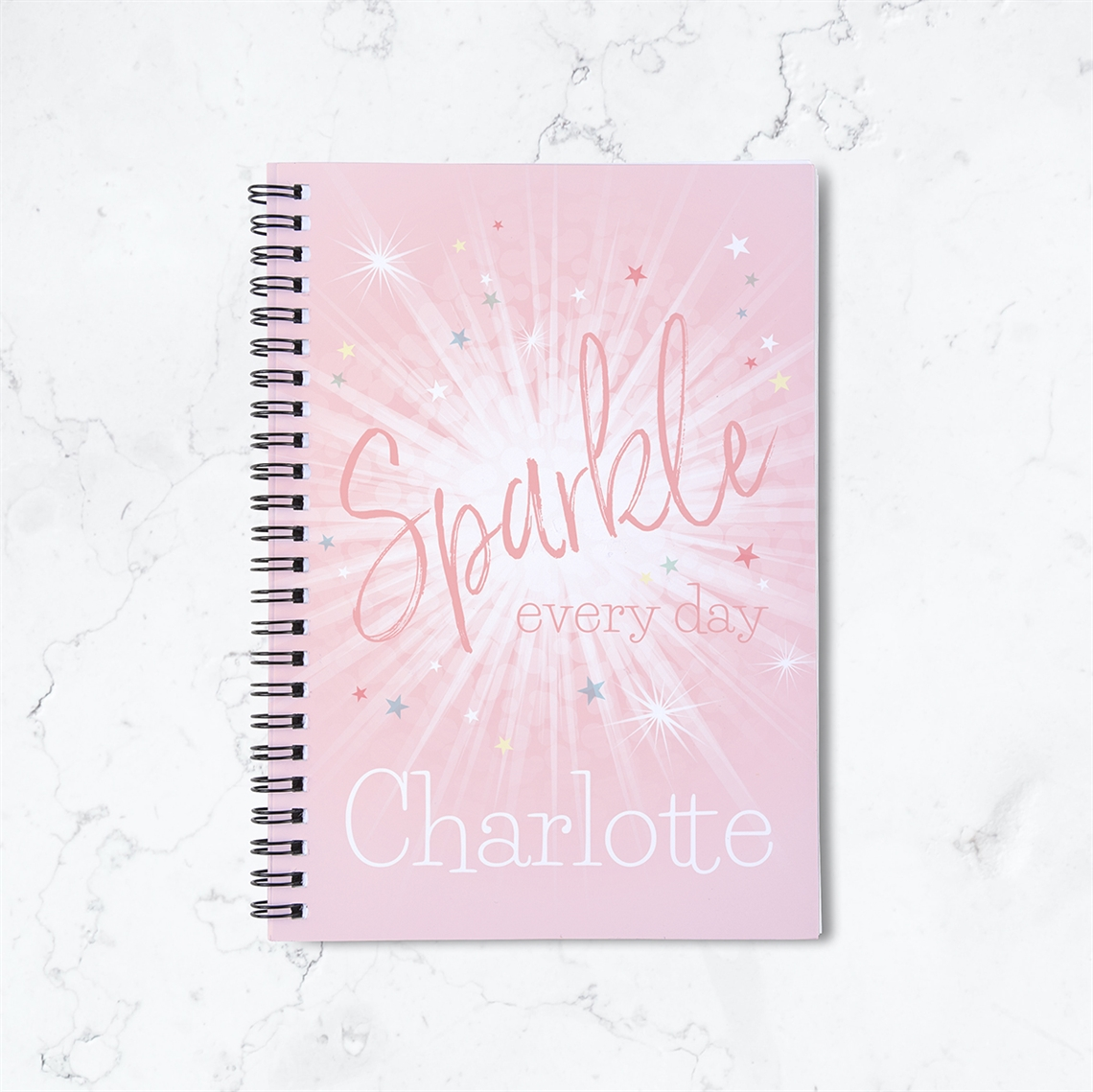 Picture of Sparkle Everyday Spiral Notebook