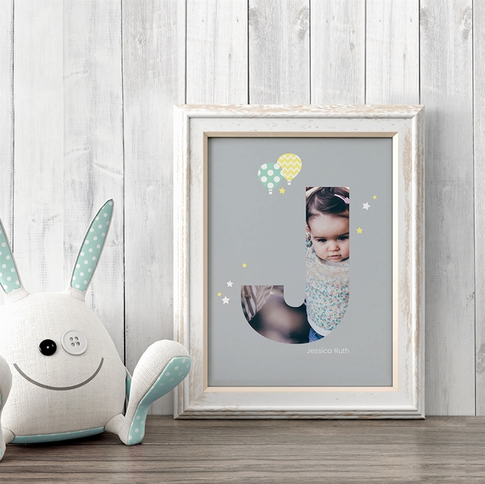 Picture of Baby & Kids Letter J Poster