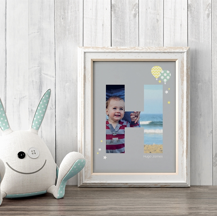 Picture of Baby & Kids Letter H Poster
