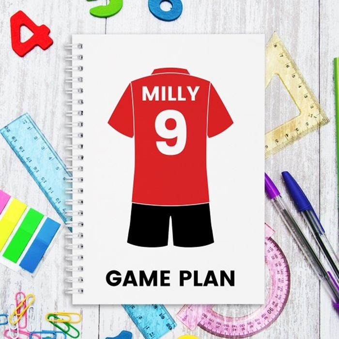 Picture of A5 Team Kit hardcover spiral notebook