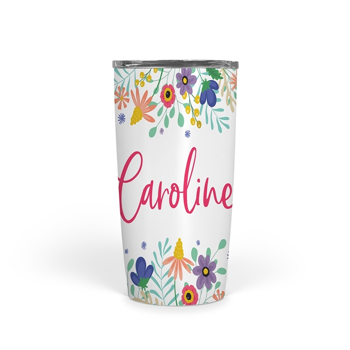 Picture of Floral 20oz Tumbler