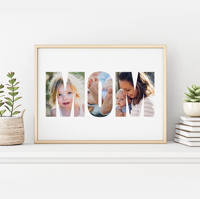 Picture of Mom Photo Personalized Poster