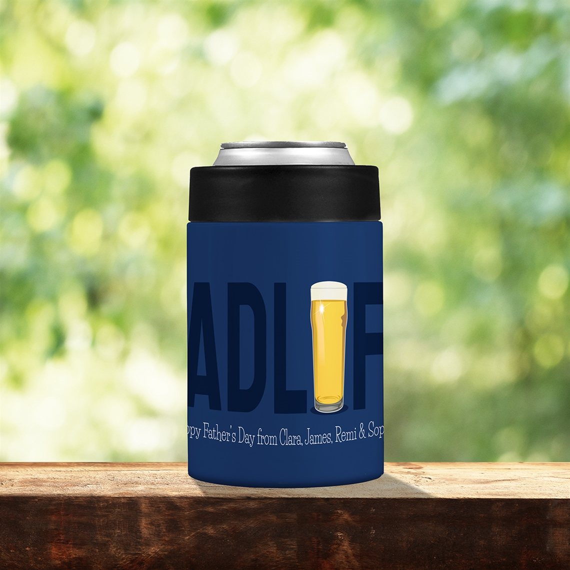 Picture of Dad Life Stainless Steel Koozie