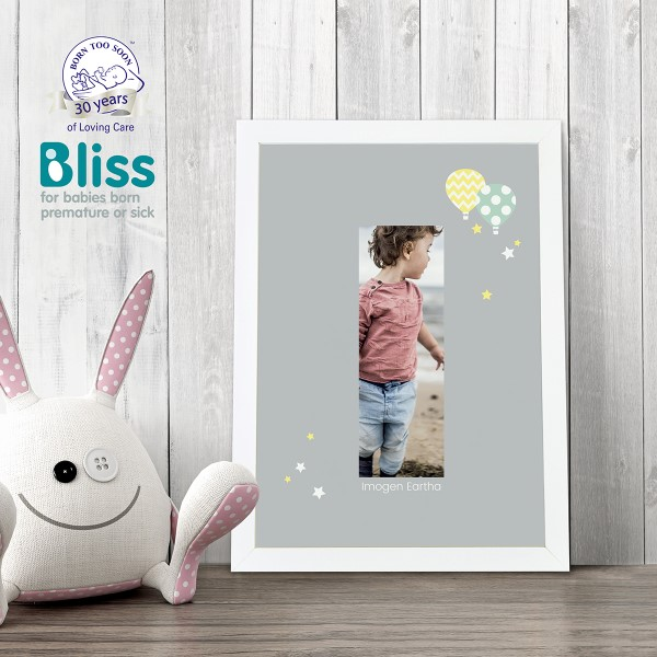 Picture of A4 Baby Alphabet 'I' personalised poster