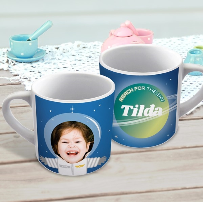 Picture of Spacesuit child's personalised mug