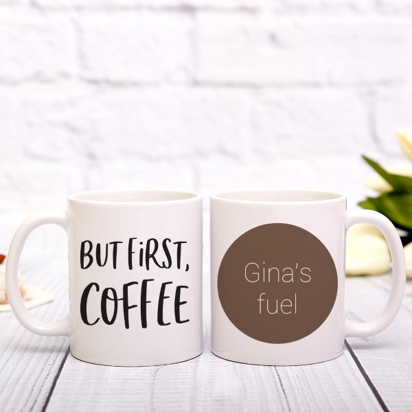 Picture of But First, Coffee Personalized Mug