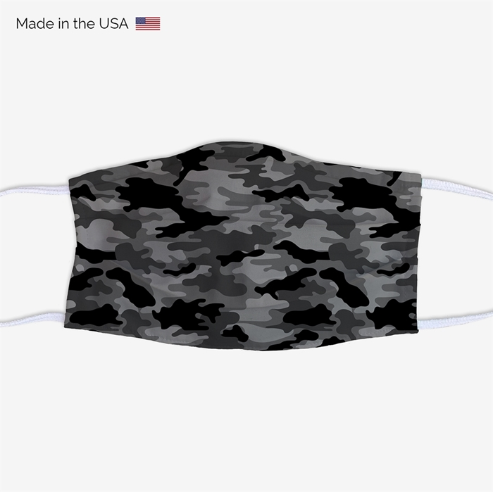 Picture of Black Camo Face Mask