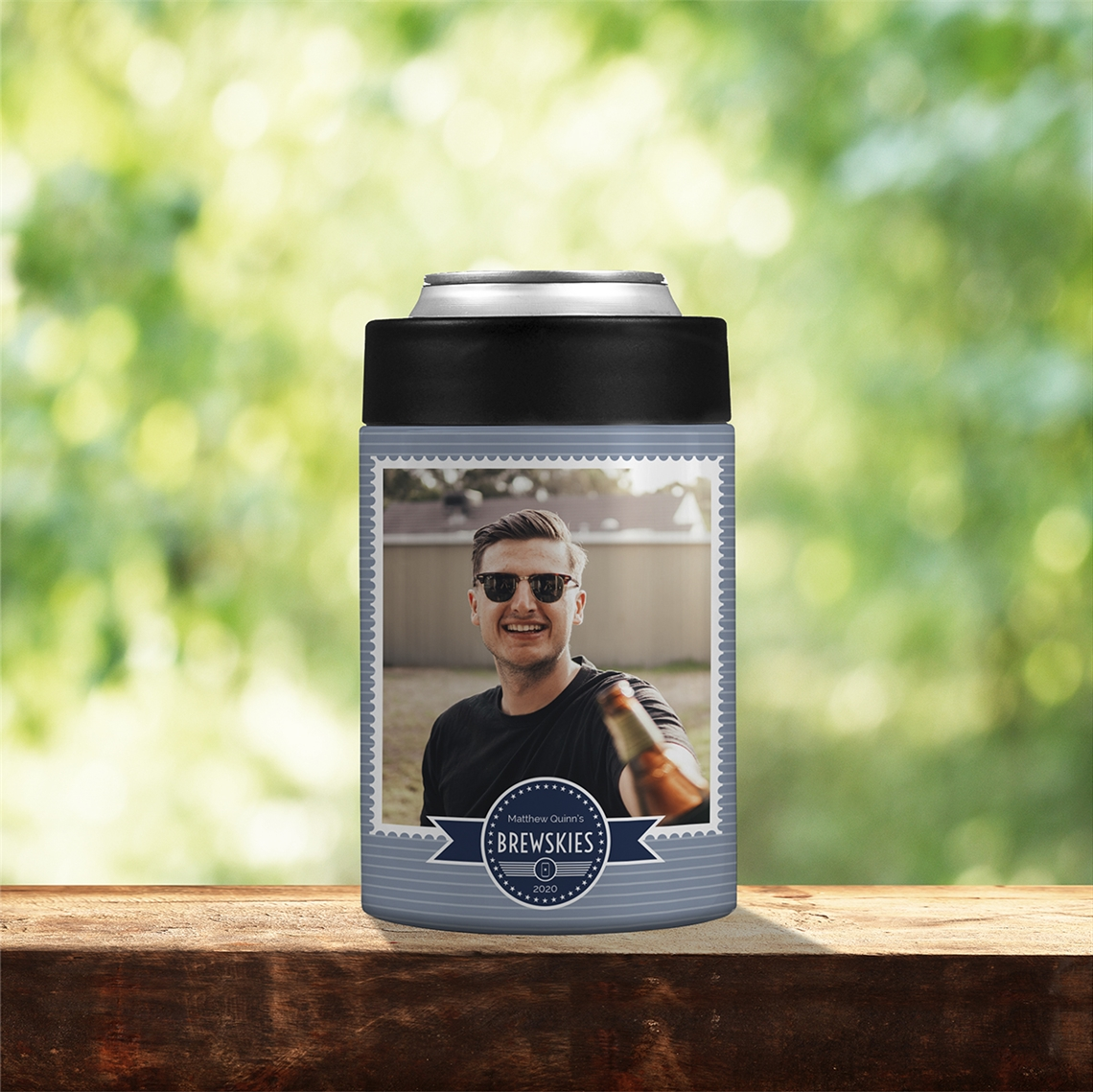 Picture of Brewskies Stainless Steel Koozie