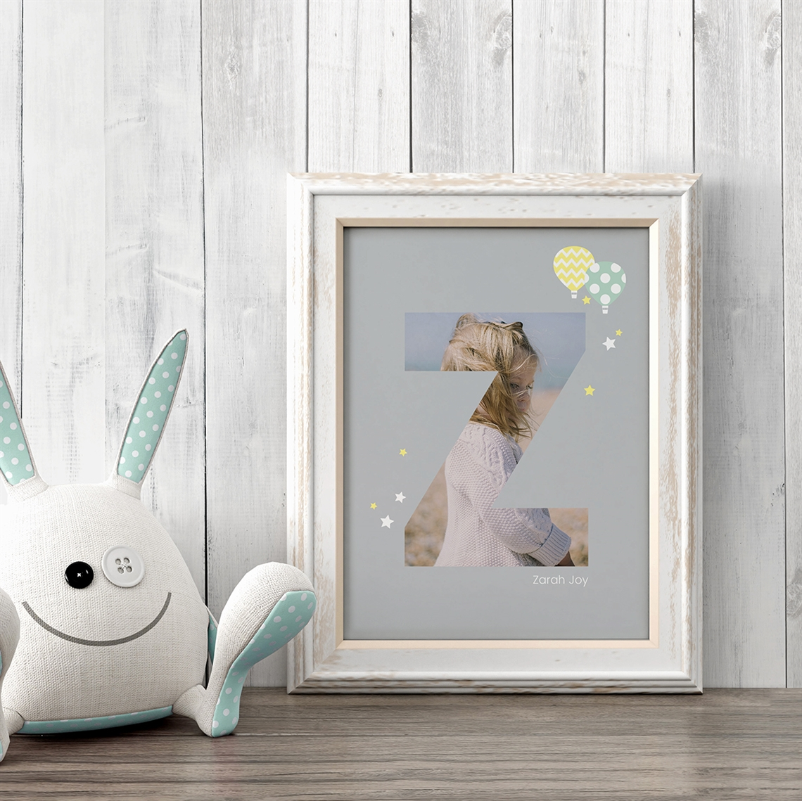 Picture of Baby & Kids Letter Z Poster