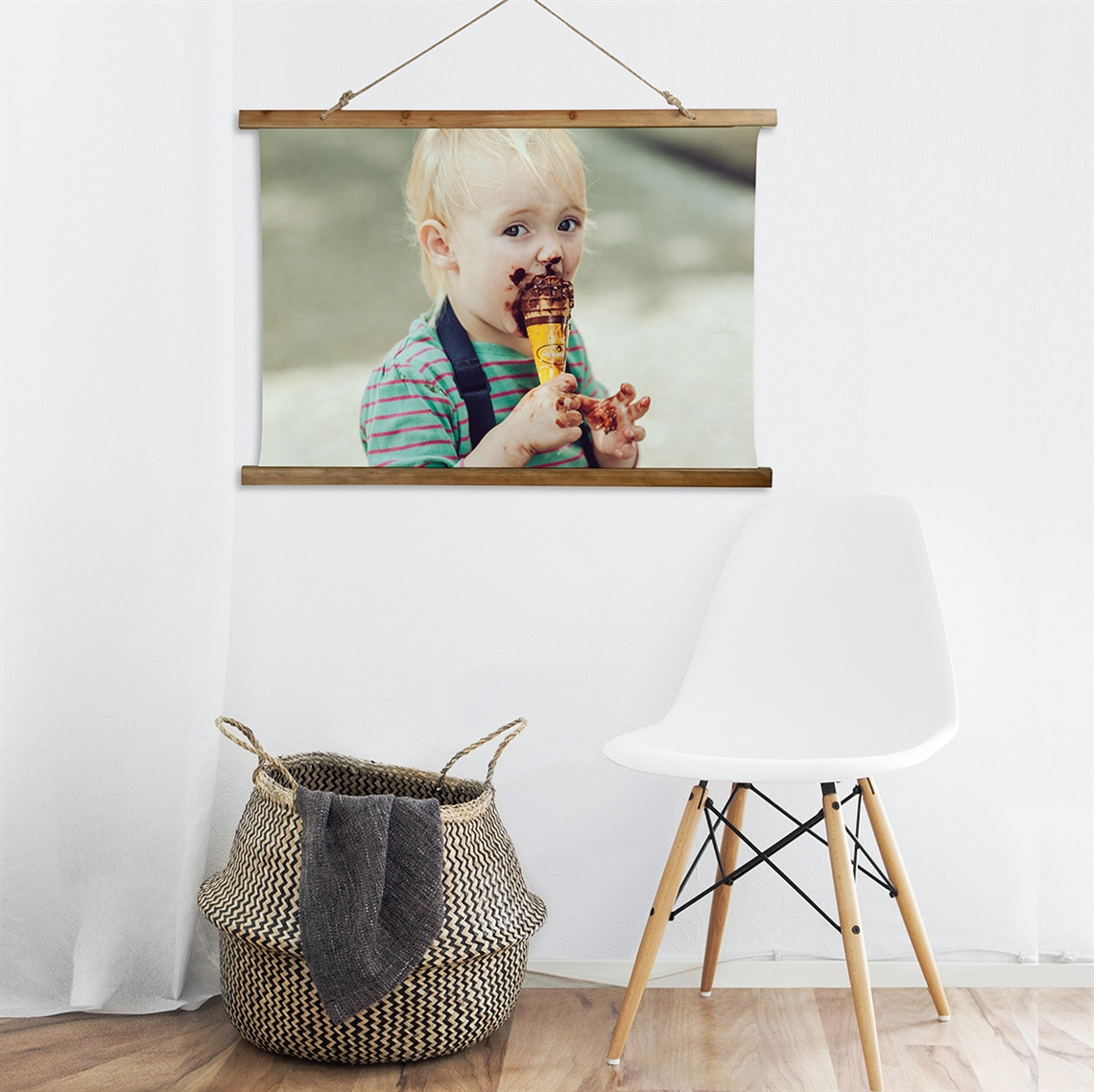 Picture of Create Your Own Horizontal Wooden Wall Tapestry