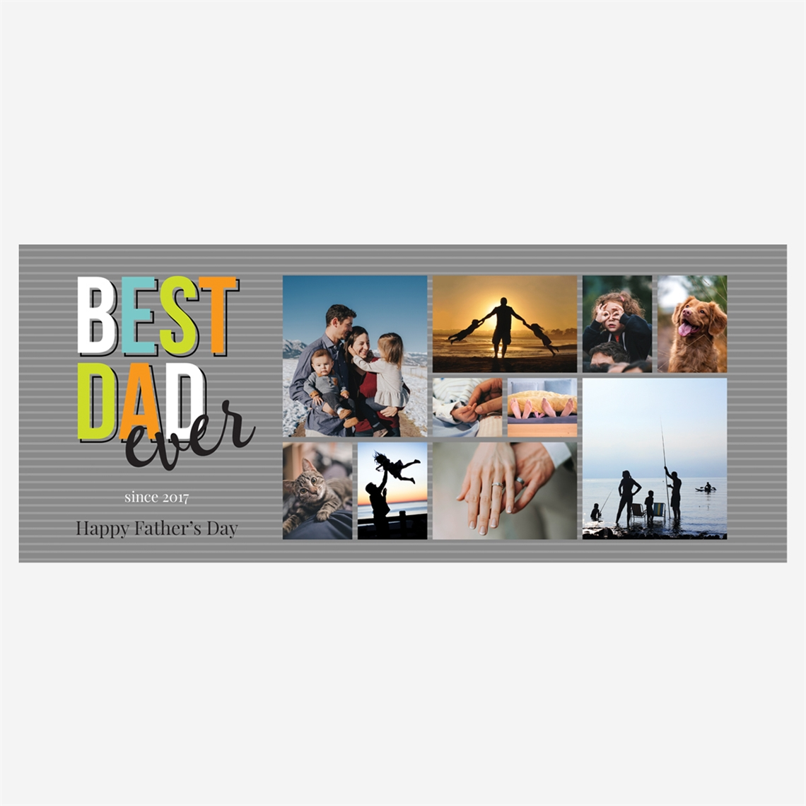 Picture of Best Dad Ever Stainless Steel Koozie