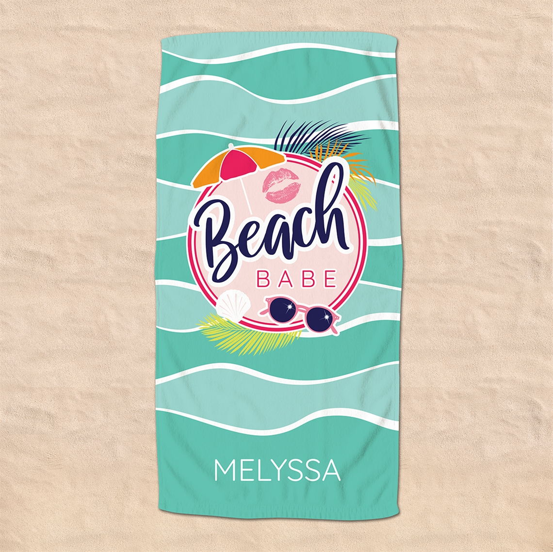 Picture of Beach Babe Beach Towel