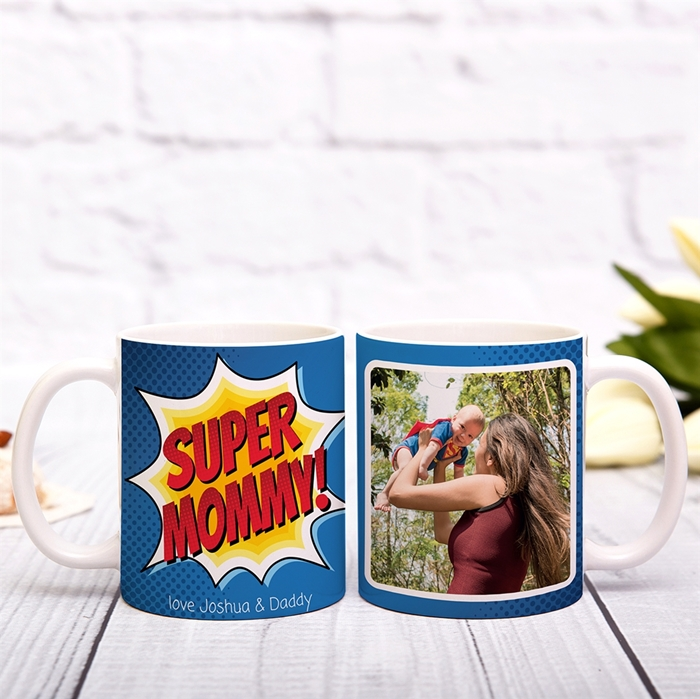 Picture of Super Mommy Personalized Mug