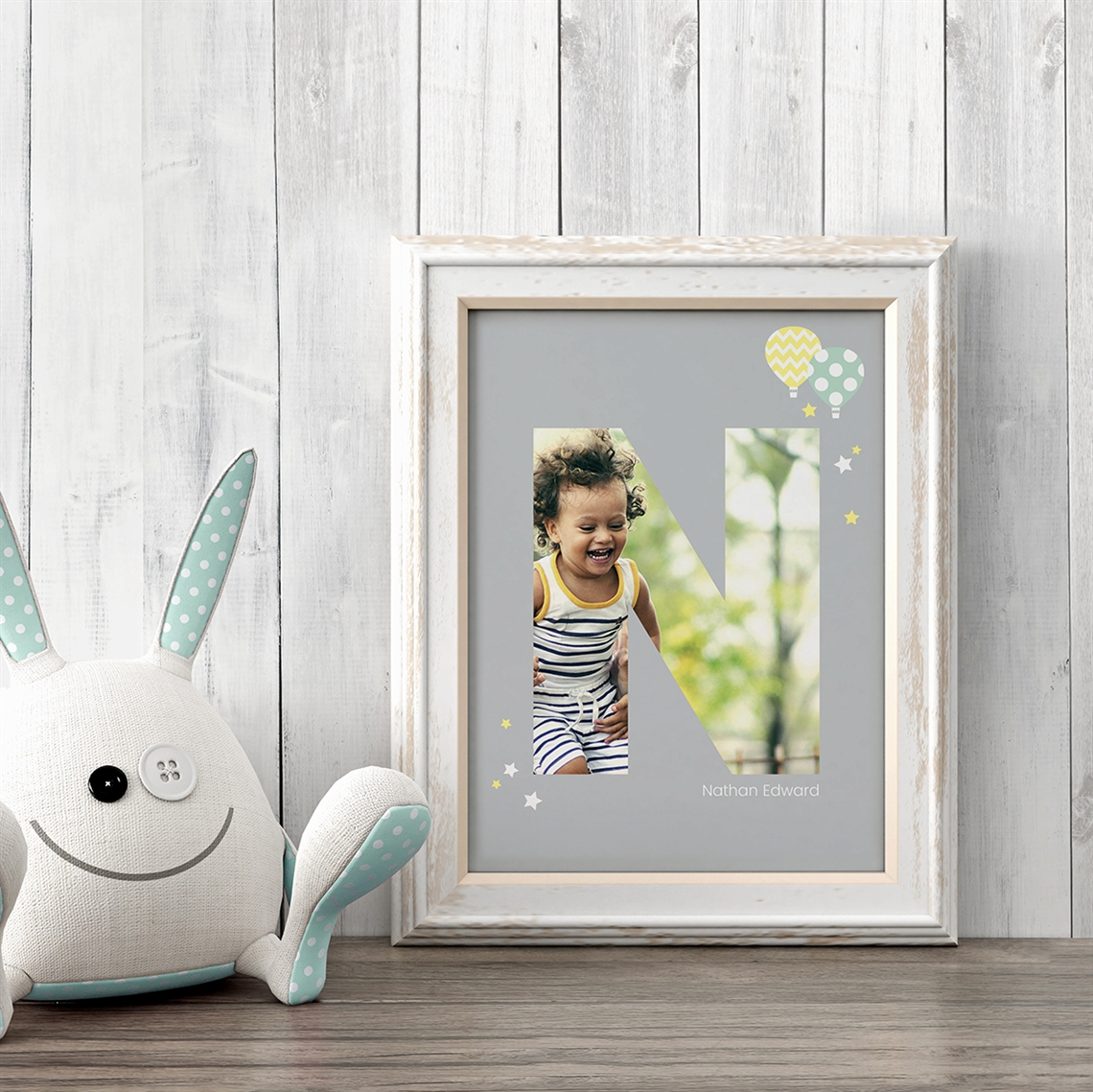 Picture of Baby & Kids Letter N Poster