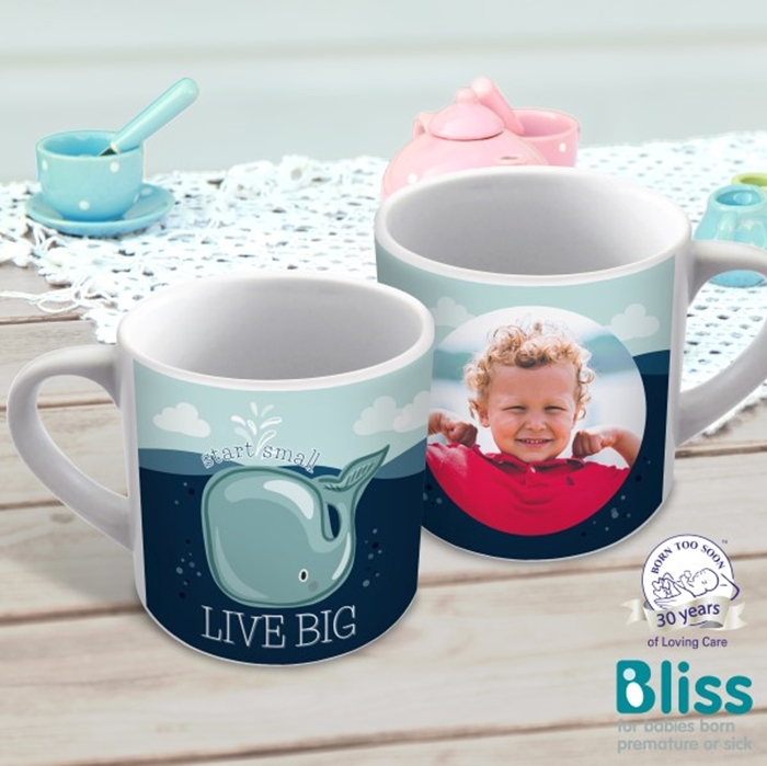 Picture of Live big child's personalised mug