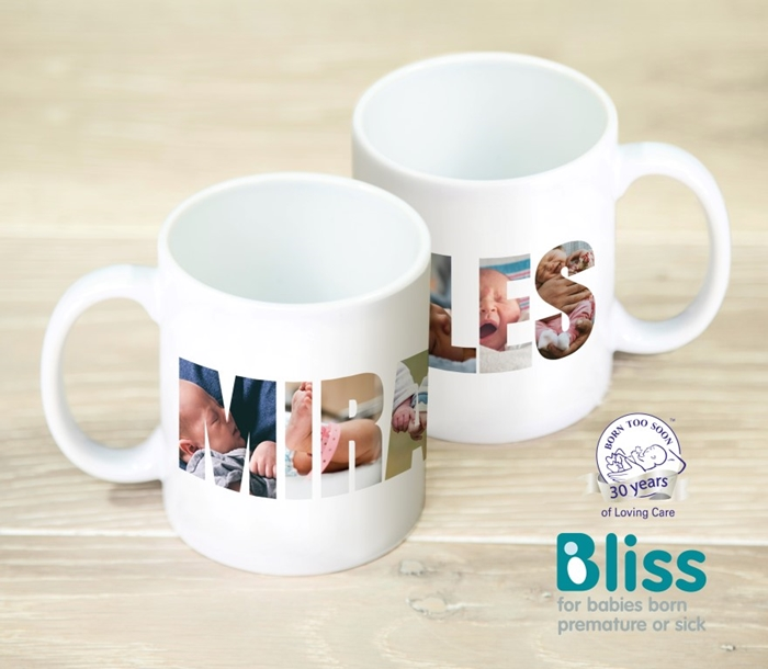 Picture of Miracles Photo Personalised Mug