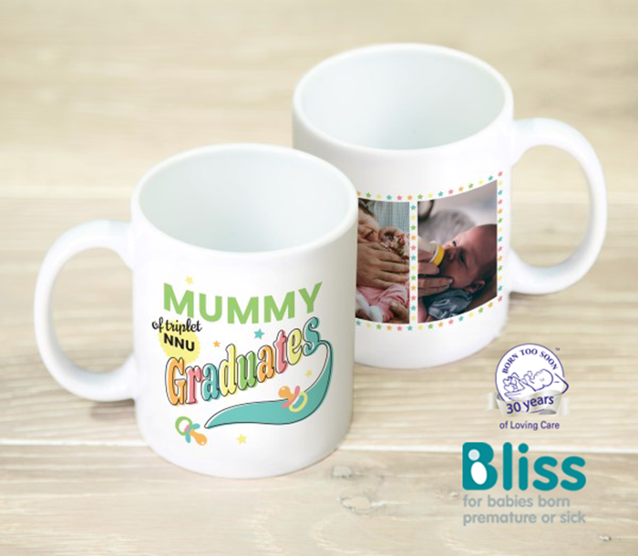 Picture of NNU Graduate triplets personalised mug