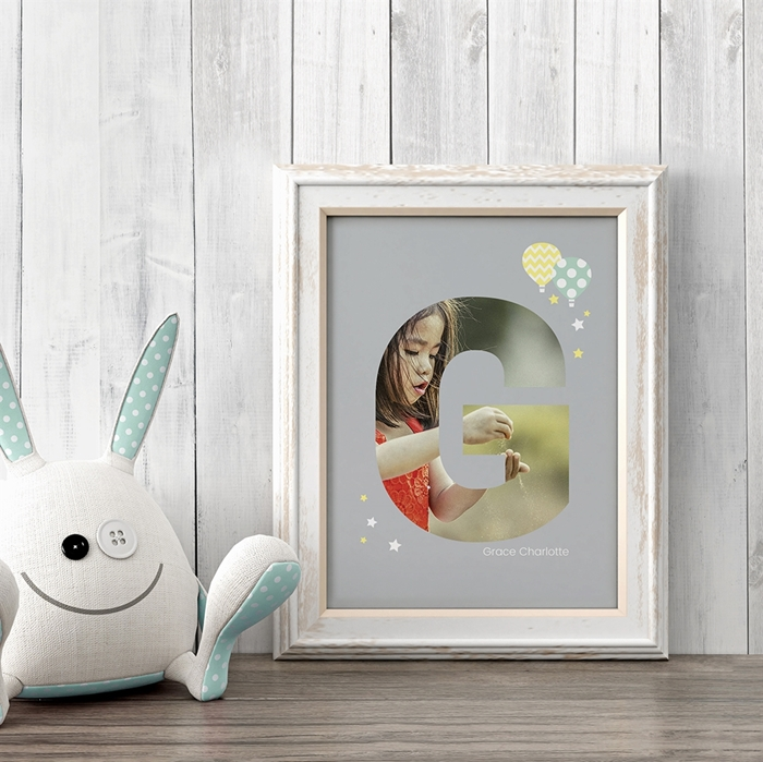 Picture of Baby & Kids Letter G Poster
