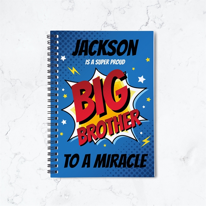 Picture of Super Big Brother Spiral Notebook
