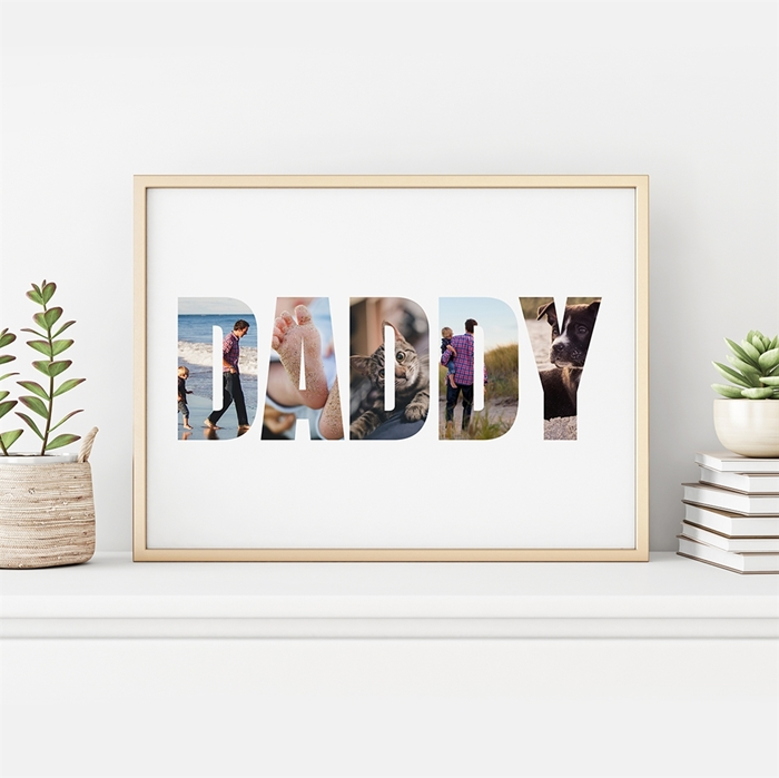 Picture of Daddy Photo Personalized Poster