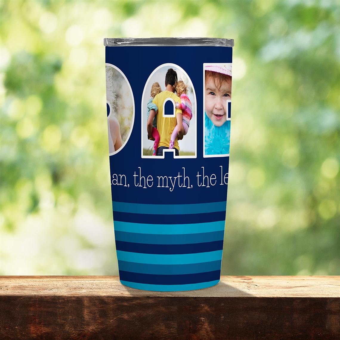 Picture of Dad Photo 20oz Tumbler